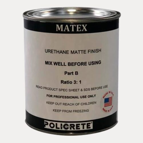 matex urethane matte finish part. B