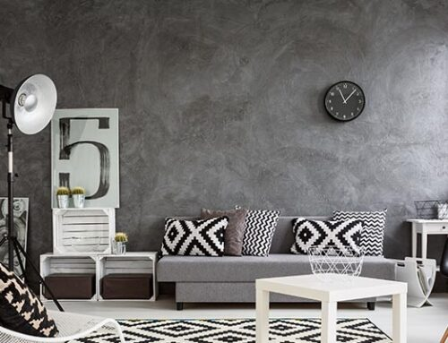 A Perfect Combination:  Gray And White