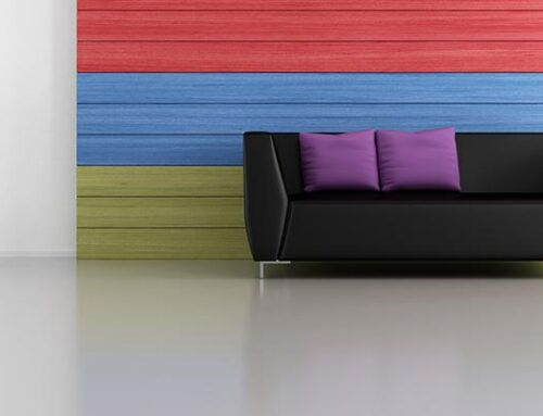 Perfect Decor: Grays with Intense Colors