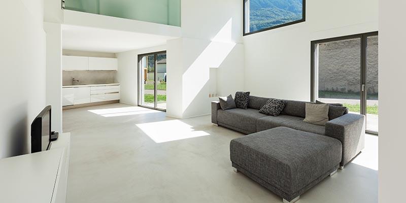 minimalist style home floors