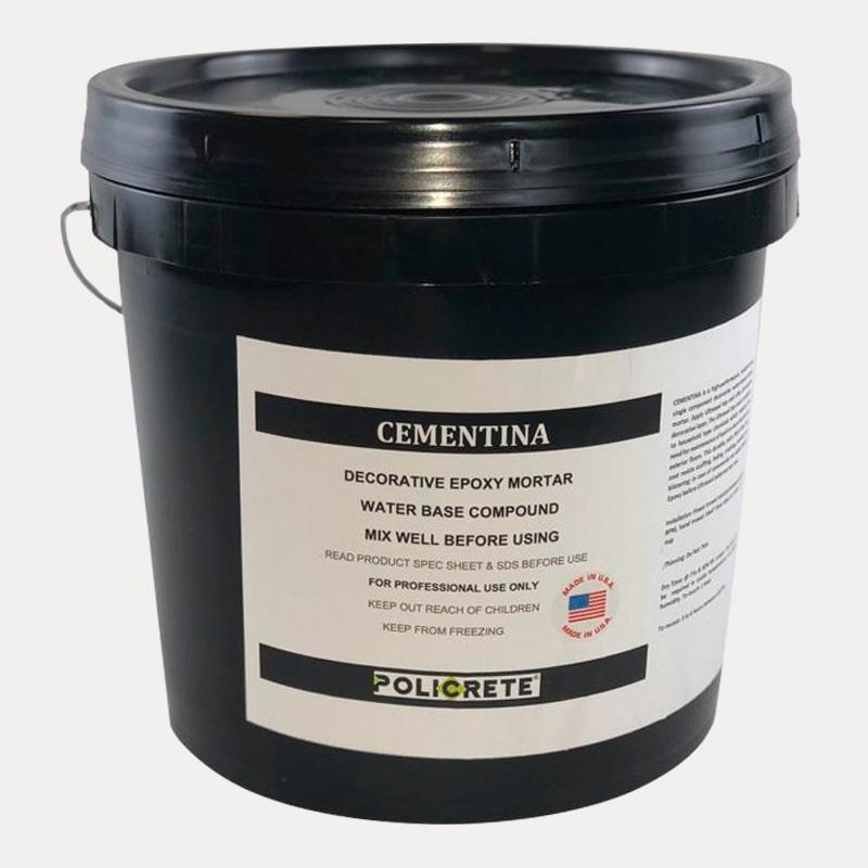 cementina decorative epoxy mortar