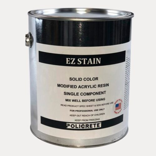 EZ stain solid color acrylic resin
