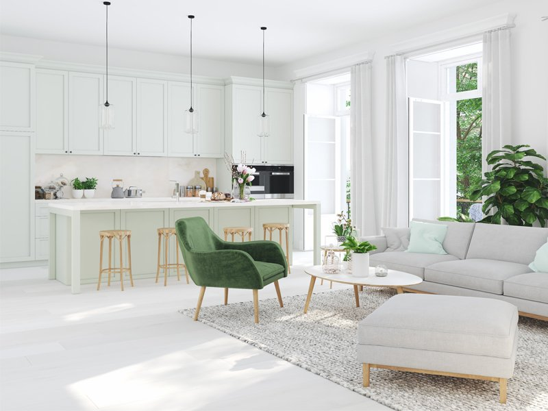 monochrome liquid porcelain home floors