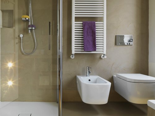 shower wall liquid porcelain small bathroom