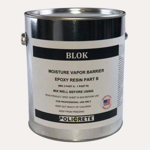 blok mositure vapor barrier part. B