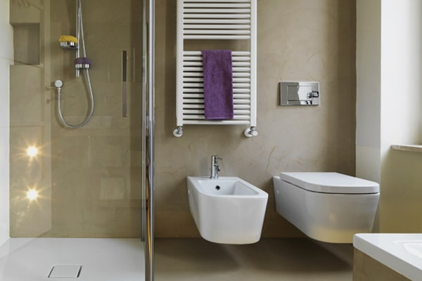 liquid porcelain residential shower