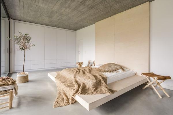 liquid porcelain residential bedroom
