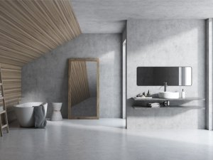 modern styles shower wall