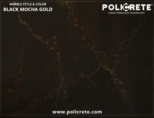 Marble Black Mocha Gold